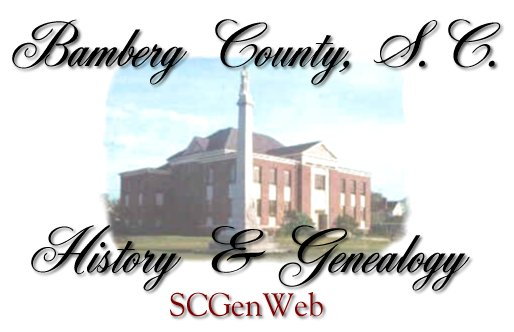 Bamberg County SC Genealogy and History