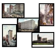 Enlargement of Vintage Postcard Image